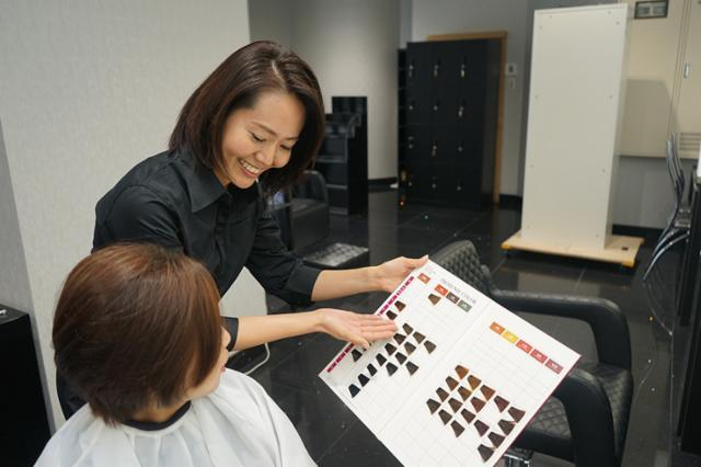 HAIR SALON IWASAKI 岩見沢店の画像・写真